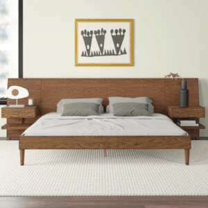 Alma Low Profile Storage Platform Bed
