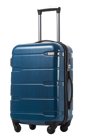 Cool life spinner luggage